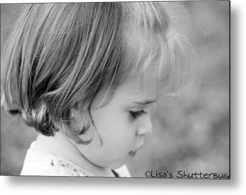 Metal Print featuring the photograph Julie 3 by Lisa Johnston