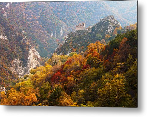 Fortress Metal Print featuring the photograph King's Fortress by Evgeni Dinev