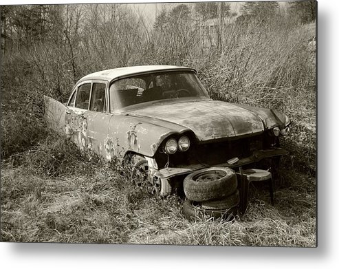 Ky Metal Print featuring the photograph Ky 52 Cars 1 by Steven Crown