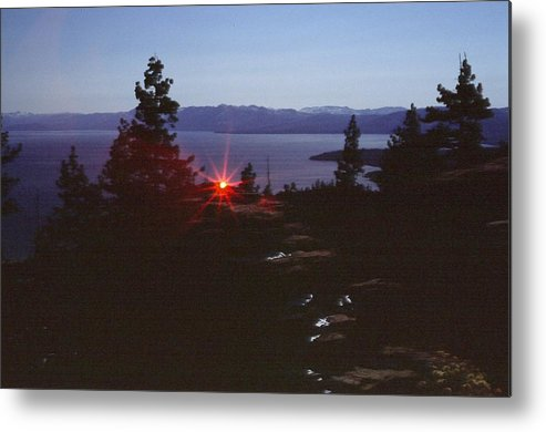 Landscape Metal Print featuring the photograph Lake Tahoe by Steven Wirth
