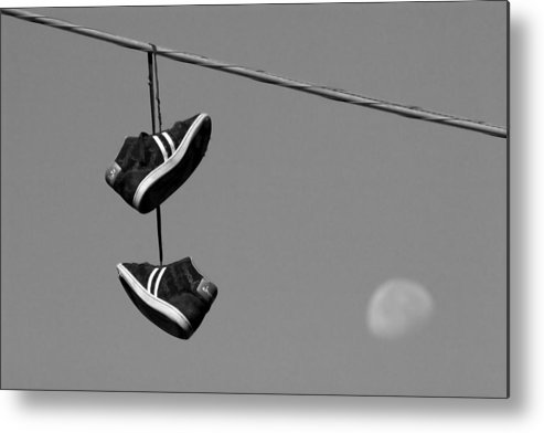 Shoes Metal Print featuring the photograph Loony by Kevin Brett