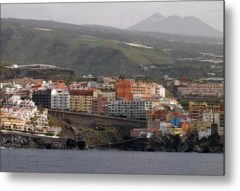 Valasretki Metal Print featuring the photograph Los Gigantes From The Sea 2 by Jouko Lehto