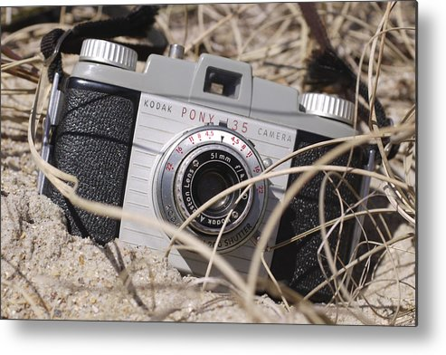 Vintage Kodak Metal Print featuring the photograph Lost Pony by Mike McGlothlen