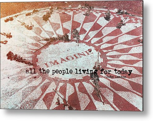 John Metal Print featuring the photograph Lyrics Quote by JAMART Photography