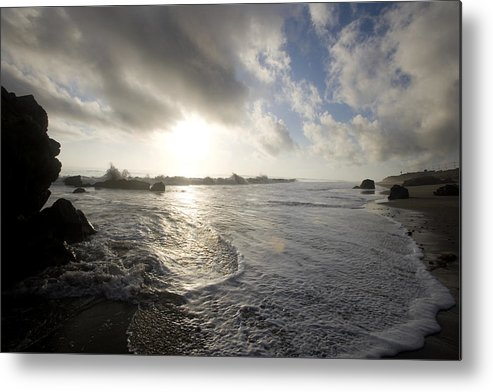 Ocean Metal Print featuring the photograph Malibu by Brad Rickerby
