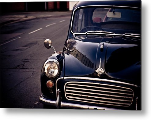 Car Metal Print featuring the photograph Morris Minor by Justin Albrecht