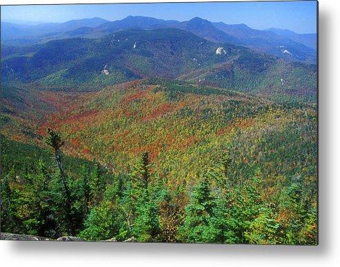 New Hampshire Metal Print featuring the photograph Mount Chocorua Foliage by John Burk