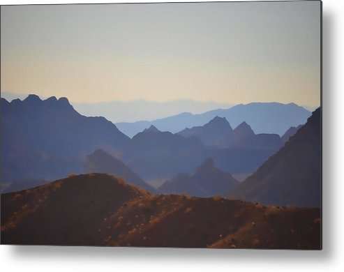 Nevada Metal Print featuring the photograph Nevada Country by Chris Fleming