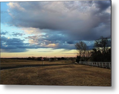 Texas Metal Print featuring the photograph North Texas Landscape by David Rachow