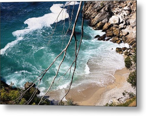 Pacific Ocean Metal Print featuring the photograph Pacific Coastline by Victoria Johns