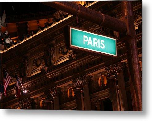 Paris Metal Print featuring the photograph Paris by K Mae Photography