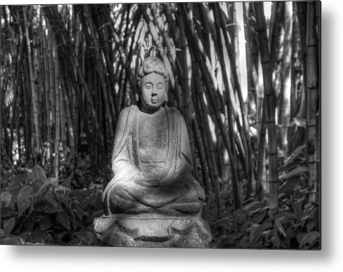 Meditation Metal Print featuring the photograph Quiet Meditation by Allen Lefever