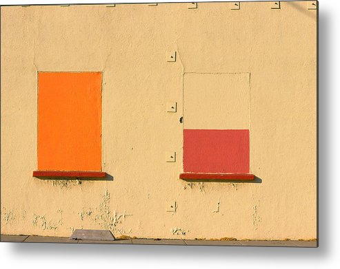 Oakland Metal Print featuring the photograph Rothko Wall Oakland by Art Ferrier