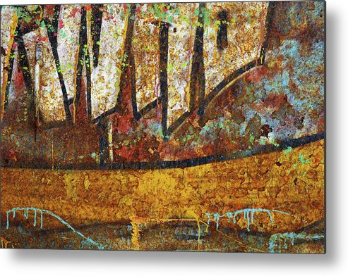 Abandoned Metal Print featuring the photograph Rust Colors by Carlos Caetano