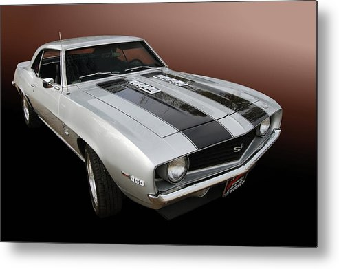 69 Metal Print featuring the photograph S S Camaro by Bill Dutting