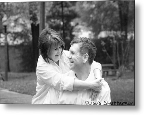 Metal Print featuring the photograph Scott And Sandi by Lisa Johnston