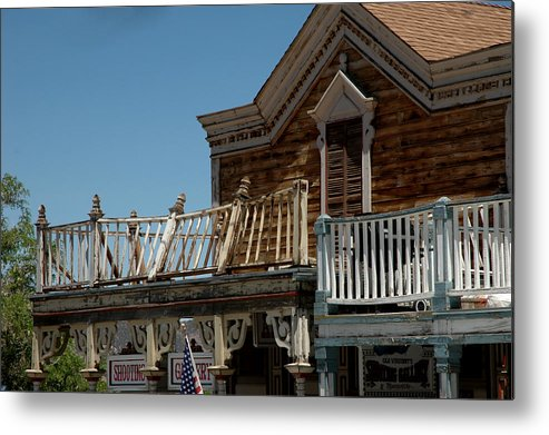 Usa Metal Print featuring the photograph Shooting Gallery by LeeAnn McLaneGoetz McLaneGoetzStudioLLCcom