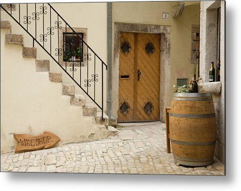 Croatia Metal Print featuring the photograph Shop In Rovinj by Ian Middleton