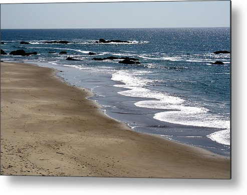 Pacific Ocean Metal Print featuring the photograph Squiggle by Claire McGee