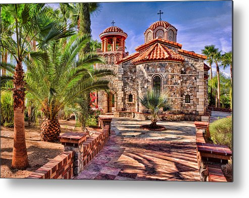 Florence Metal Print featuring the photograph St. Nicholas Chapel by Matt Suess