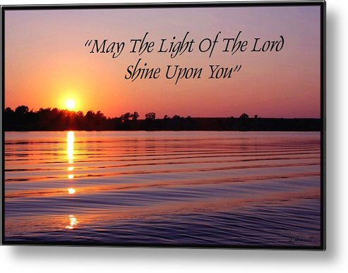 Sunset Metal Print featuring the photograph State Lake Sunset by Jim Darnall