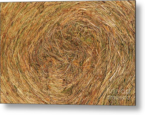 Hay Metal Print featuring the photograph Straw by Michal Boubin
