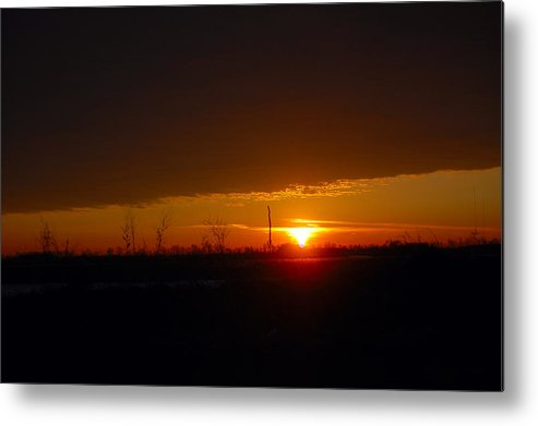 Sunrise Metal Print featuring the photograph Sunrise by Jennifer Englehardt