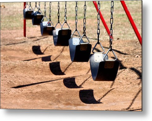 Swing Metal Print featuring the photograph Swing It by Karen Scovill
