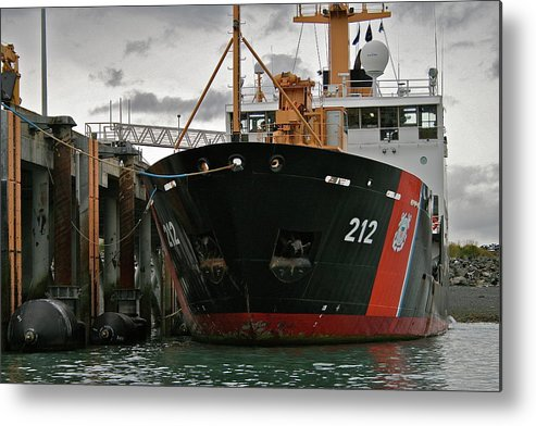 Uscg Metal Print featuring the photograph Tender by Rick Monyahan
