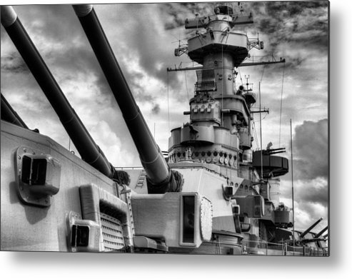 Wilmington North Carolina Metal Print featuring the photograph The Big Nc by JC Findley