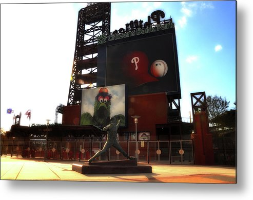 Sports Metal Print featuring the photograph The Phillies - Steve Carlton by Bill Cannon
