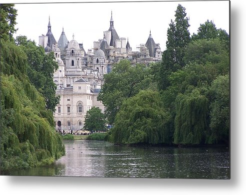 Landscape Metal Print featuring the photograph The Princess Castle by Chuck Shafer