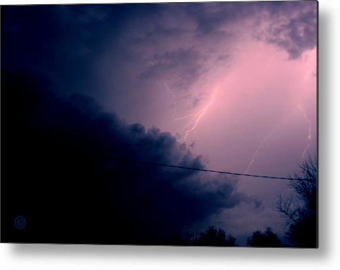 Sky Metal Print featuring the photograph The Storm 1.1 by Joseph A Langley