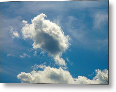 Clouds Metal Print featuring the photograph The Turtle by Mopics Eu