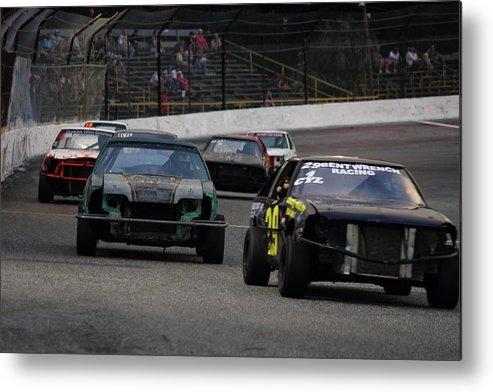 Race Cars Metal Print featuring the photograph Thunderstock by Jamie Smith