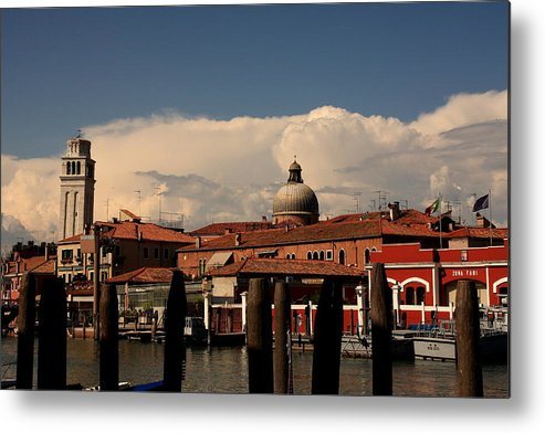 Venice Metal Print featuring the photograph View Of San Pietro In Venice by Michael Henderson
