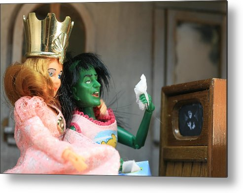 Wizard Of Oz Metal Print featuring the photograph What Friends Are For by Susie DeZarn
