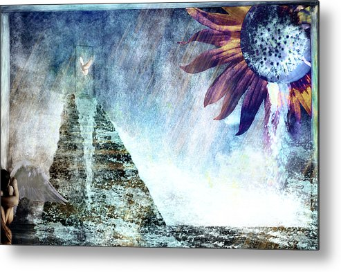 Tears Metal Print featuring the photograph When Heaven Cries by Yvonne Emerson