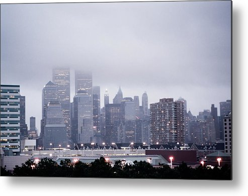 New Metal Print featuring the photograph World Trade Center Photograph Last Shot by Sean Gautreaux
