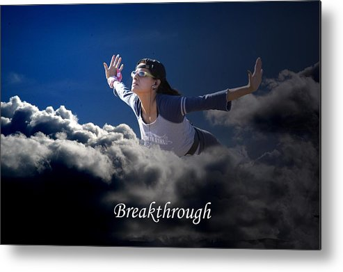 Sky Metal Print featuring the photograph Breakthrough by Richard Gordon