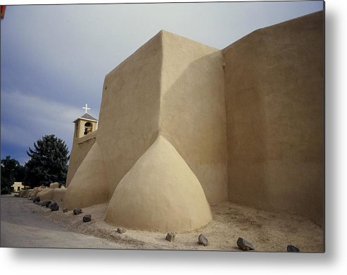 Church Metal Print featuring the photograph San Francisco De Taos Two by Lynard Stroud