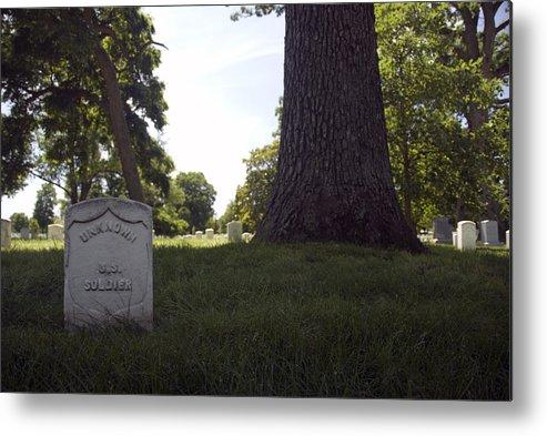 Arlington Metal Print featuring the photograph Arlington Cemetery by Erik Berglund