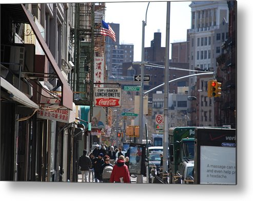 Architecture Metal Print featuring the photograph Canal And Eldridge by Rob Hans