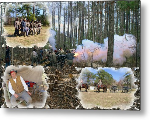 Civil War Metal Print featuring the photograph Civil War At New Bern by Rodger Whitney