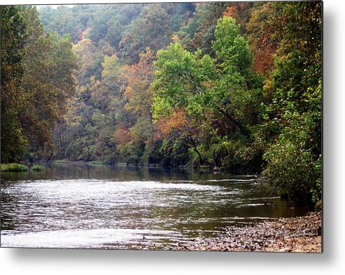 Current River Metal Print featuring the photograph Current River 1 by Marty Koch
