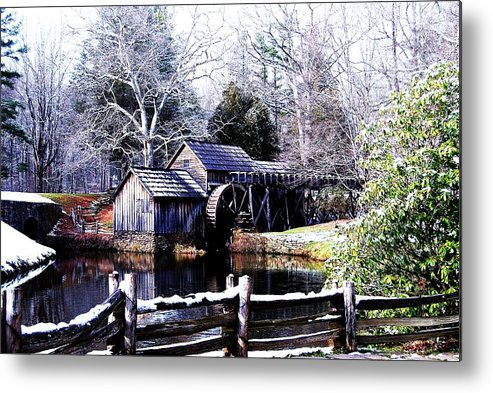 Mill Metal Print featuring the photograph Digital Mill by Eric Liller