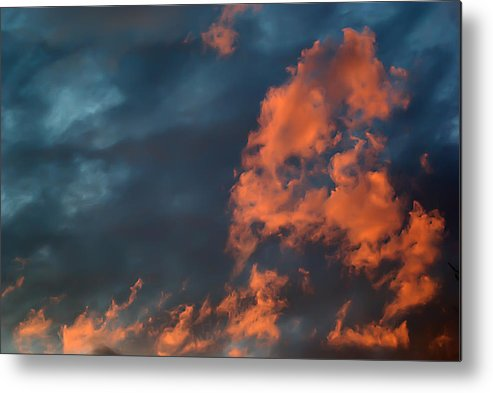 2d Metal Print featuring the photograph Dynamic Sky by Brian Wallace