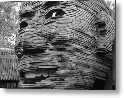 Architecture Metal Print featuring the photograph Gentle Giant by Rob Hans