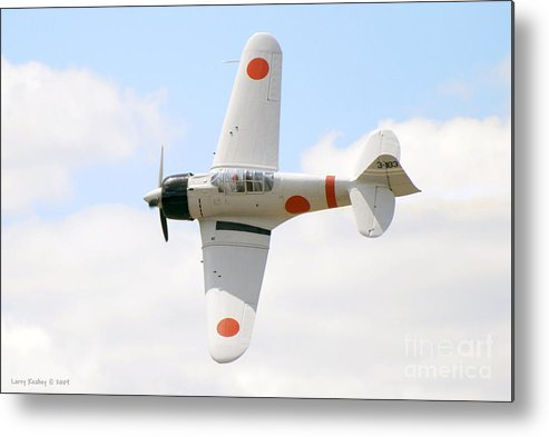 Airplanes Metal Print featuring the photograph Japanese Zero by Larry Keahey
