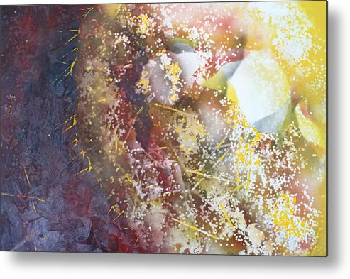 Spriteual Metal Print featuring the painting Light In The Fermement by Roy Woods